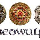 Beowulf Triple Icon Design by Handiwork-Games