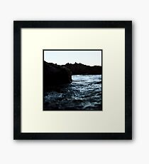 At The Water Framed Print