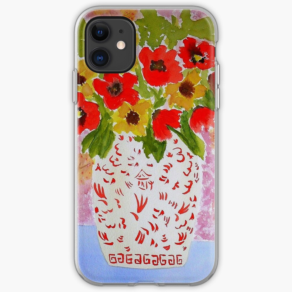 Chinoiserie Flowers iPhone Case & Cover