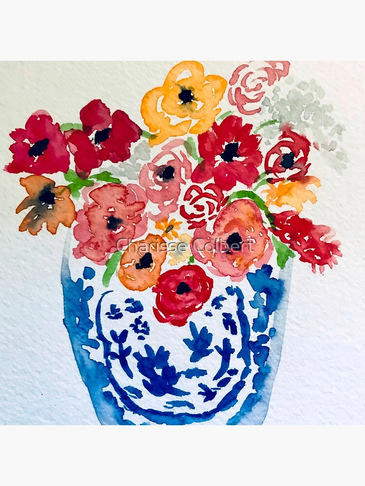 Summer Flowers  by charissecolbert