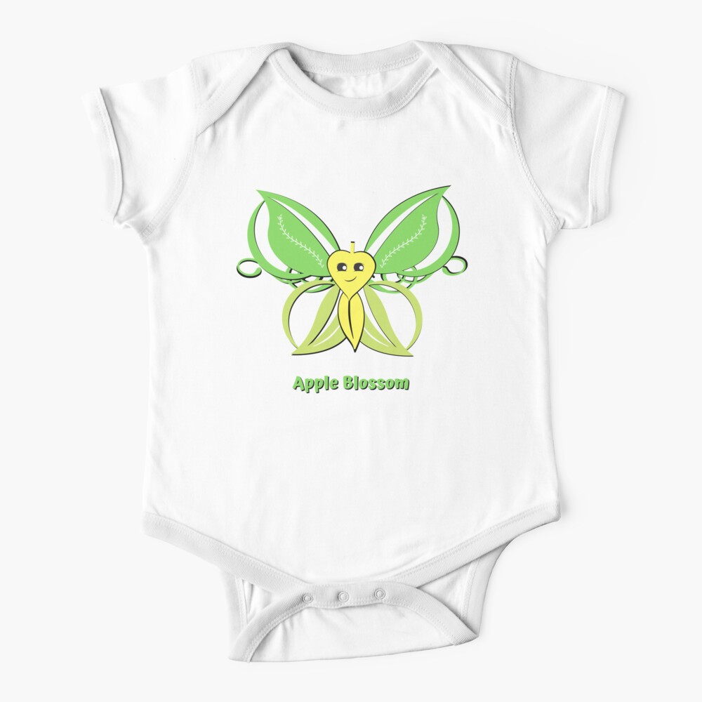 Apple Blossom Baby One-Piece