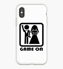 GAME ON iPhone Case