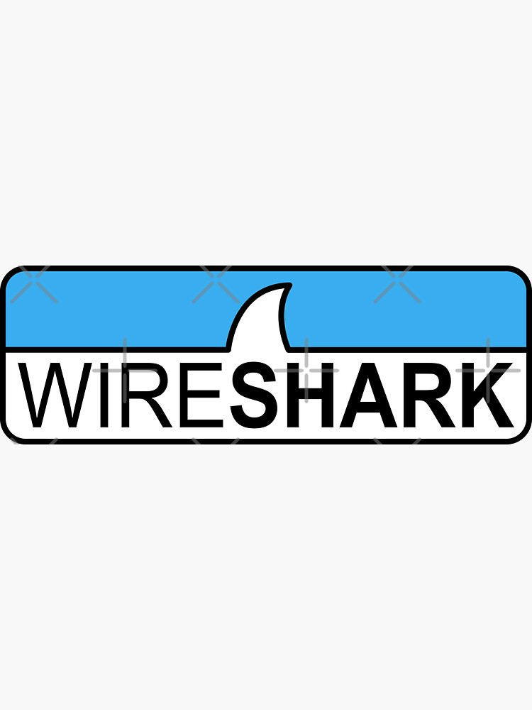 Wireshark Hi-Res Logo Horizontal by adidabu