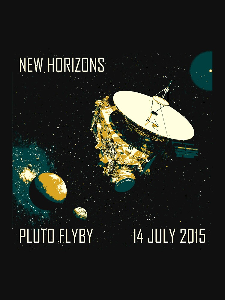 New Horizons Pluto Flyby 14 July 2015 | Unisex T-Shirt