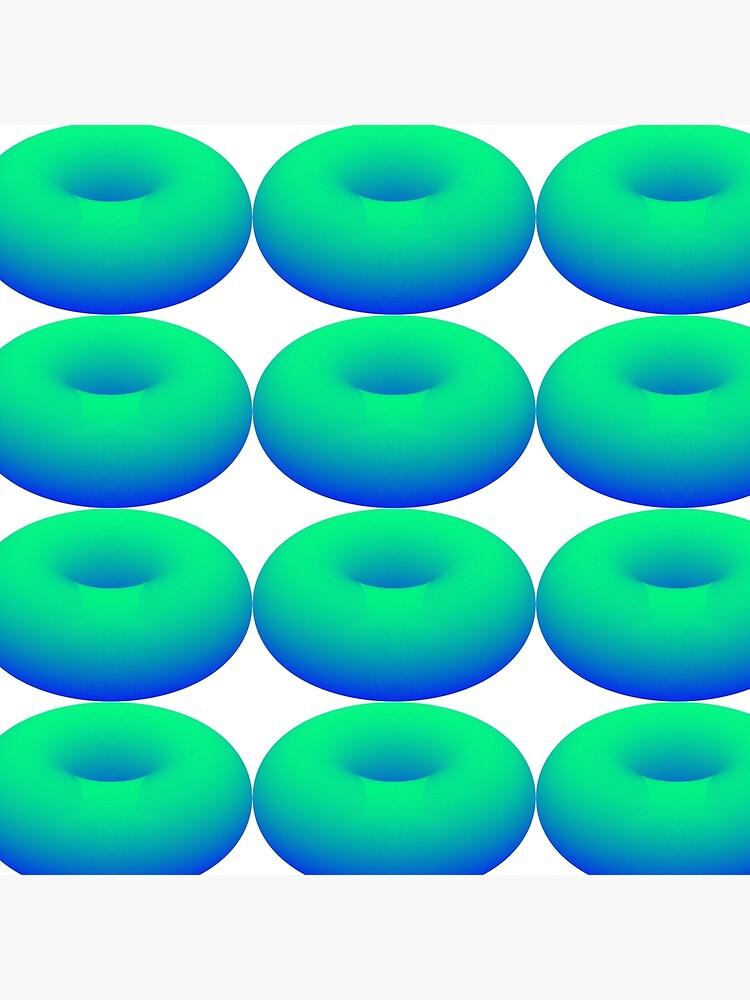 TORUS - Emerald Water Surface von Toxenum