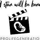 A star will be born. #prolifegeneration by bumpers4babies