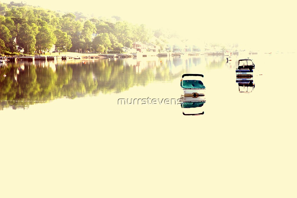 Boats in the Morning by murrstevens