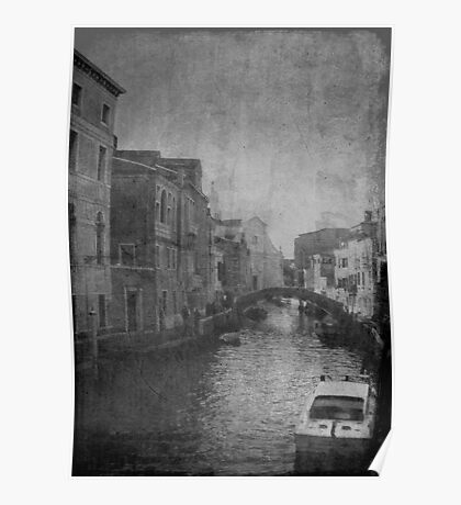 butta via la cartina a Venezia..... Poster