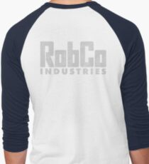 RobCo Men's Baseball ¾ T-Shirt