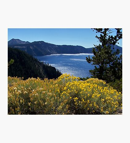 Fall glory at Crater Lake Photographic Print