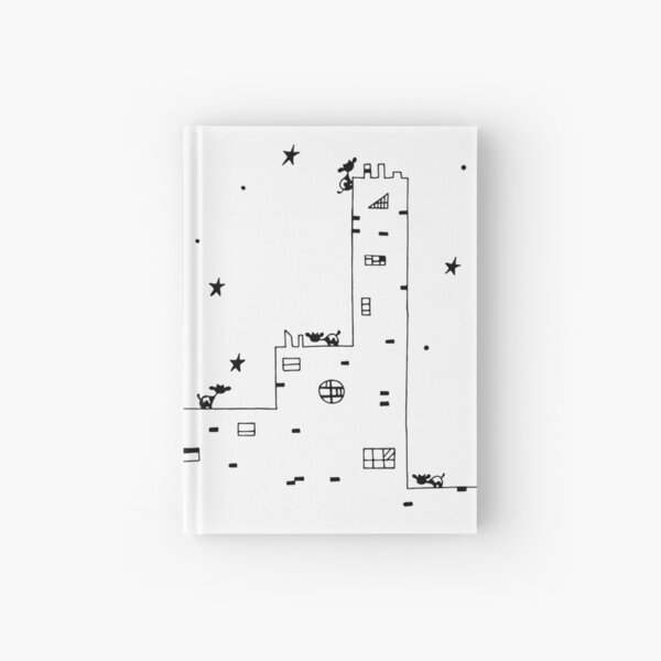 Cows in City Hardcover Journal