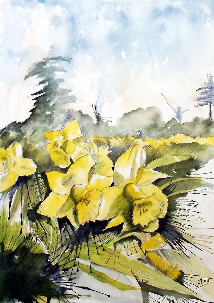 Country Beauties by Pat  Elliott