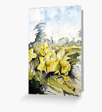 Country Beauties Greeting Card