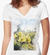 Country Beauties Fitted V-Neck T-Shirt