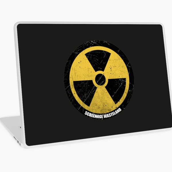 Radiation Warning (Round) Laptop Skin