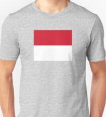 National Flag of Monaco  T-Shirt