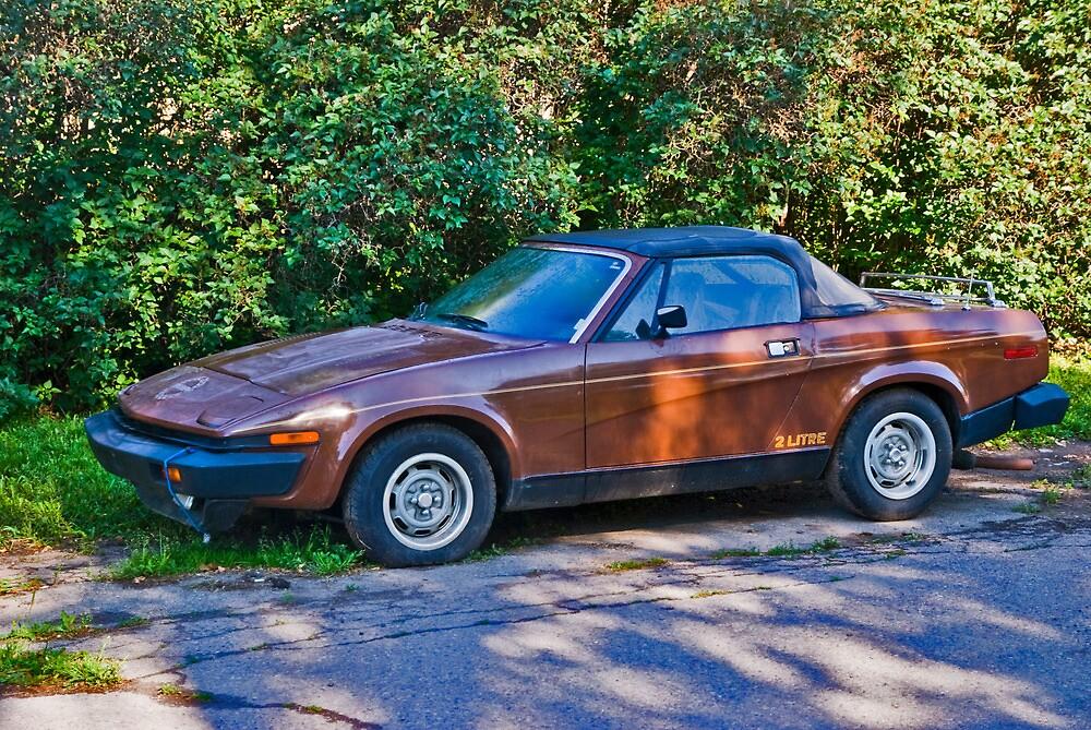 1980 Triumph TR-7 by Bryan Spellman