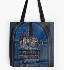 Castle Book Tote Bag