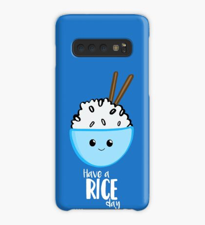 RICE Pun - Have a rice day! Motivational Case/Skin for Samsung Galaxy