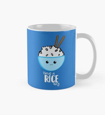 RICE Pun - Have a rice day! Motivational Mug