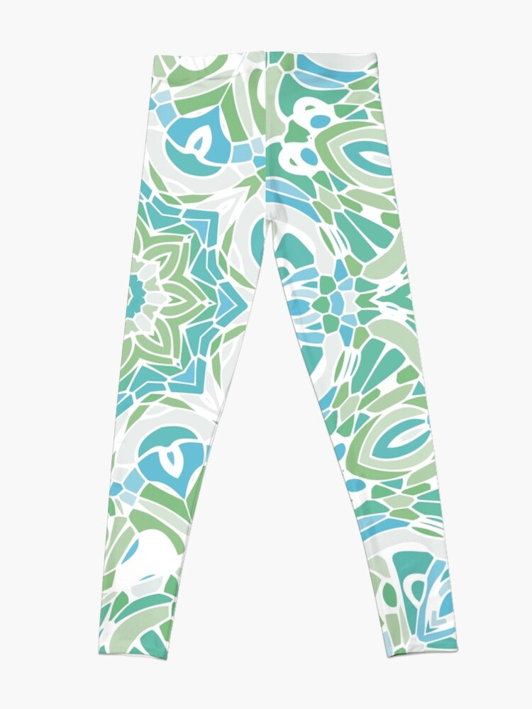 Alternate view of Sea Green Mandala Leggings