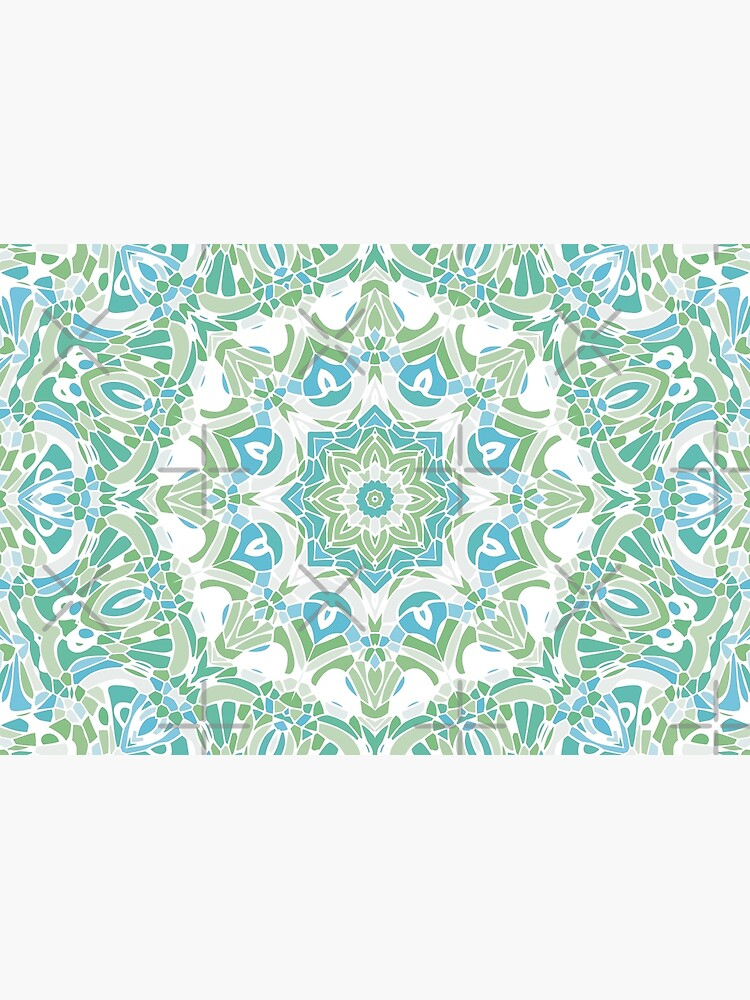 Sea Green Mandala by kellydietrich