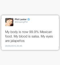 Phil Lester Funny Tweet Sticker