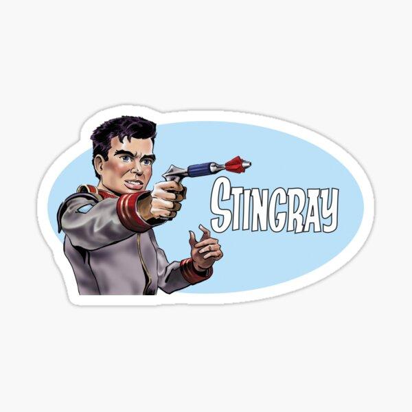 Troy Tempest from 'Stingray' Sticker
