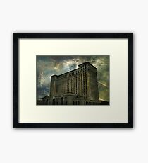 Detroit, Michigan Central Station Framed Print
