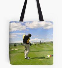 Golf Swing I Tote Bag