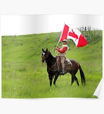 Bar U Ranch II, Canada Day 2010 Poster