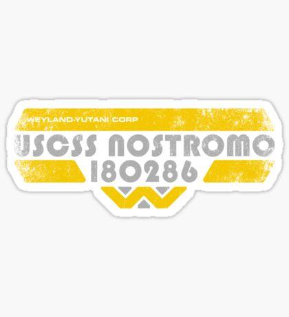 U S C S S   N O S T R O M O Sticker