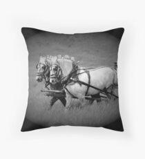 The Grey Team, Bar U Ranch Throw Pillow
