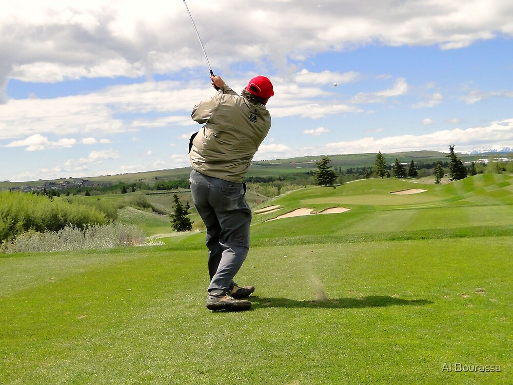 Golf Swing J by Al Bourassa