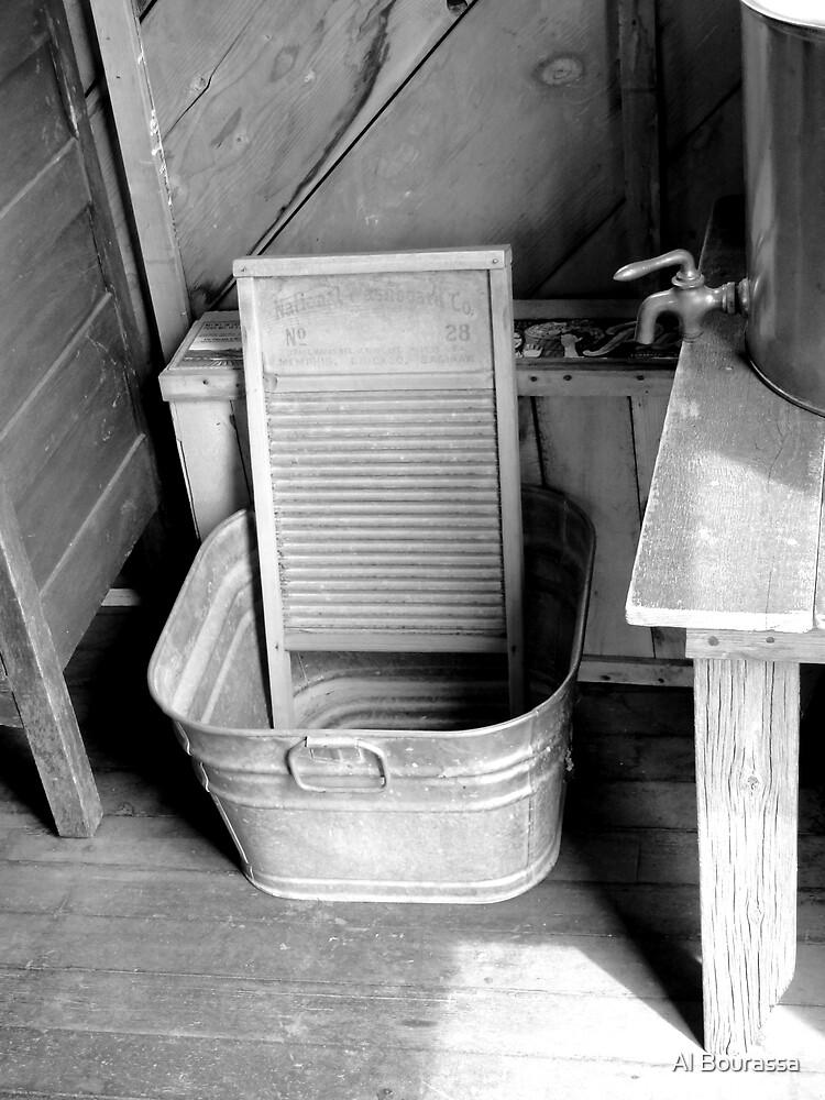 Ready For Laundry  by Al Bourassa