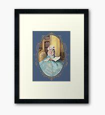 Madame Souris - an elegant mouse Framed Art Print