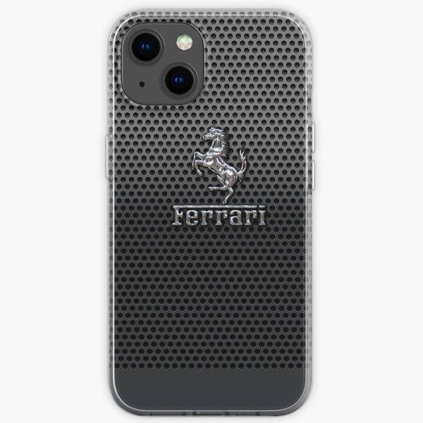 ferrari logo popular iPhone Soft Case