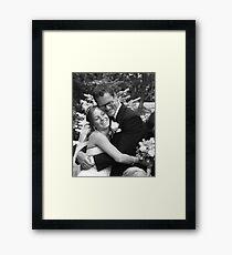 Heavenly Hug Framed Print