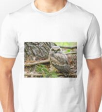 Great Horned Owlet Unisex T-Shirt