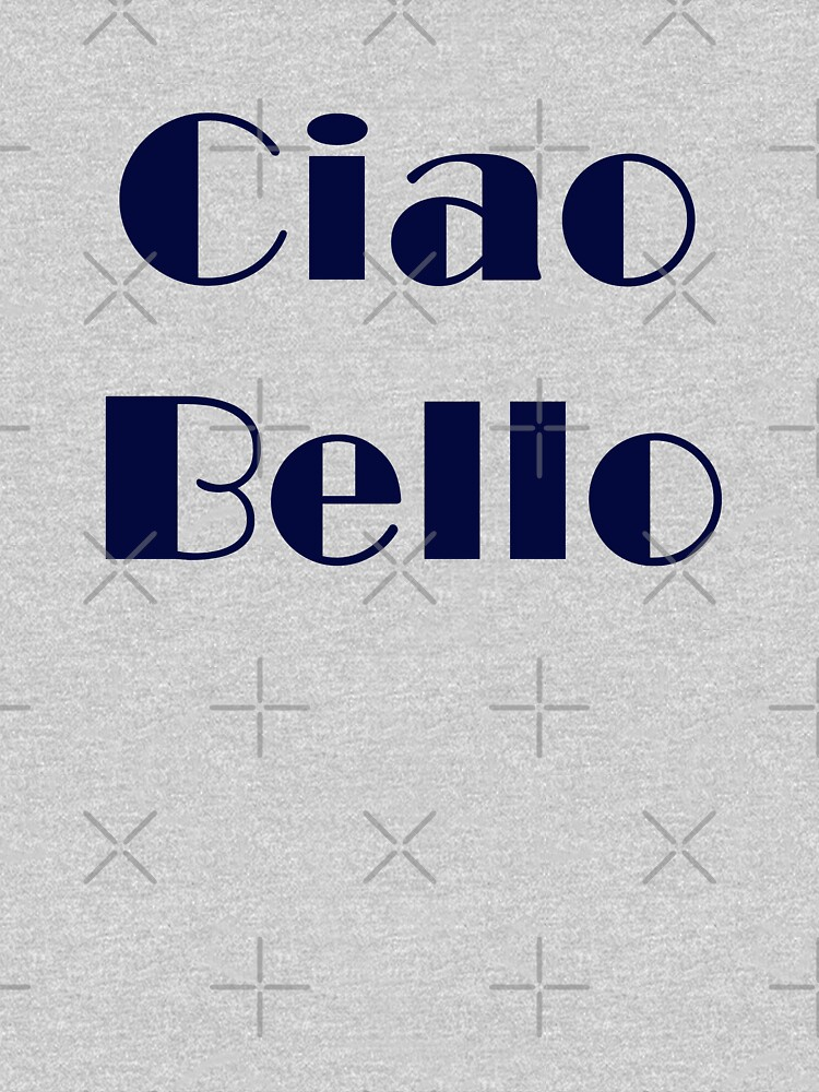 Ciao Bello by monjiiart