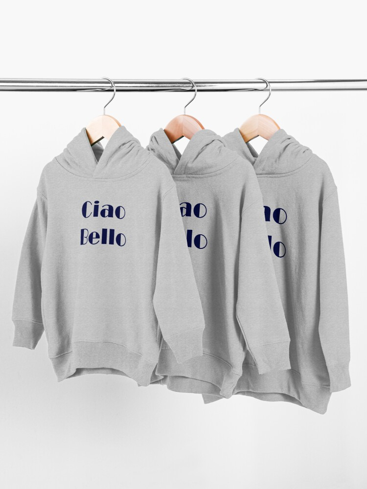 Alternate view of Ciao Bello Toddler Pullover Hoodie