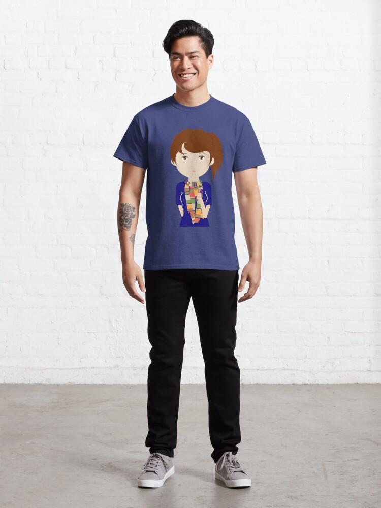 Vista alternativa de Camiseta clásica Dr Who fan girl