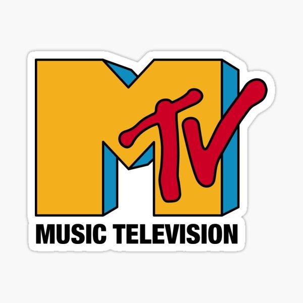 MTV Classic Logo Sticker