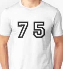 Number Seventy Five T-Shirt