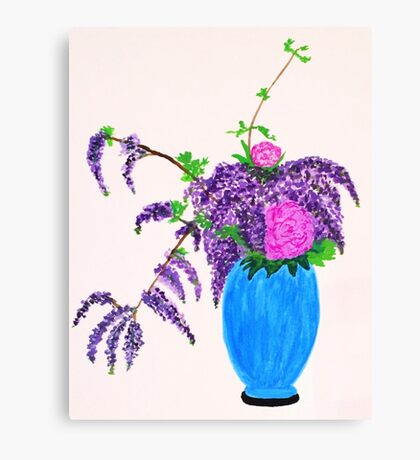 Ikebana Arrangement  Canvas Print