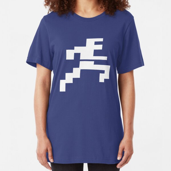 Arcade Running Man Slim Fit T-Shirt
