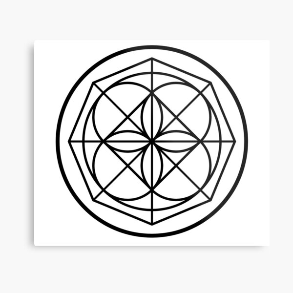 Kenpo Universal Pattern Metal Print