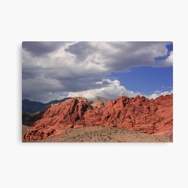 Blue Skies over Red Rock Canvas Print