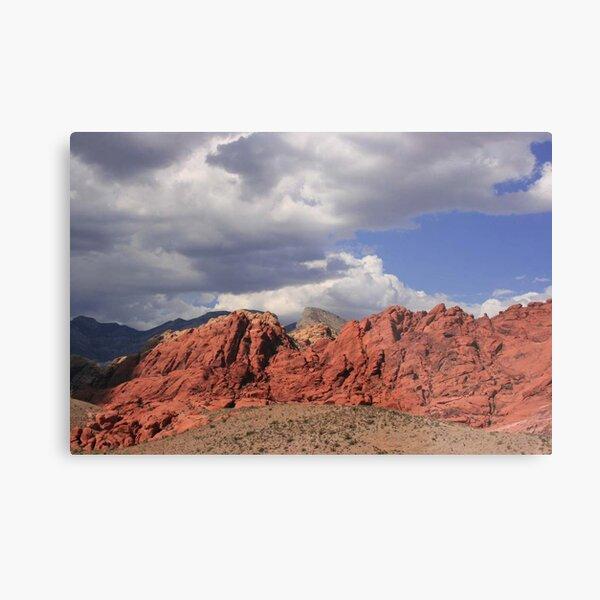 Blue Skies over Red Rock Metal Print