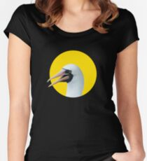 Hi! Nazca booby Fitted Scoop T-Shirt